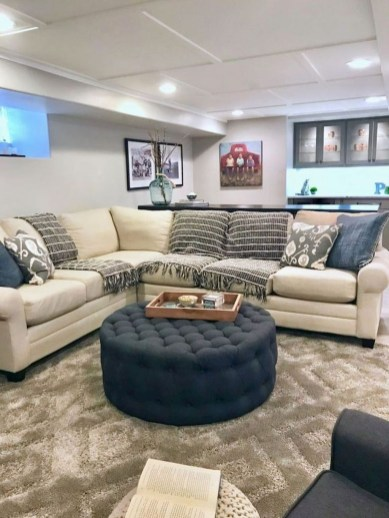 Adorable Basement Remodel Ideas For Upgrading Your Room Design 03