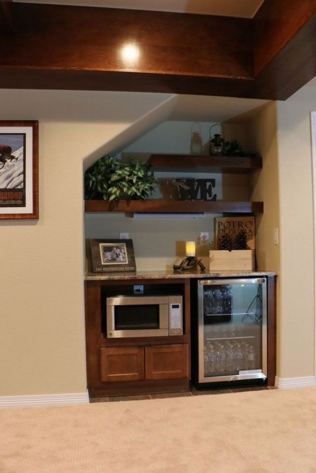 Adorable Basement Remodel Ideas For Upgrading Your Room Design 23