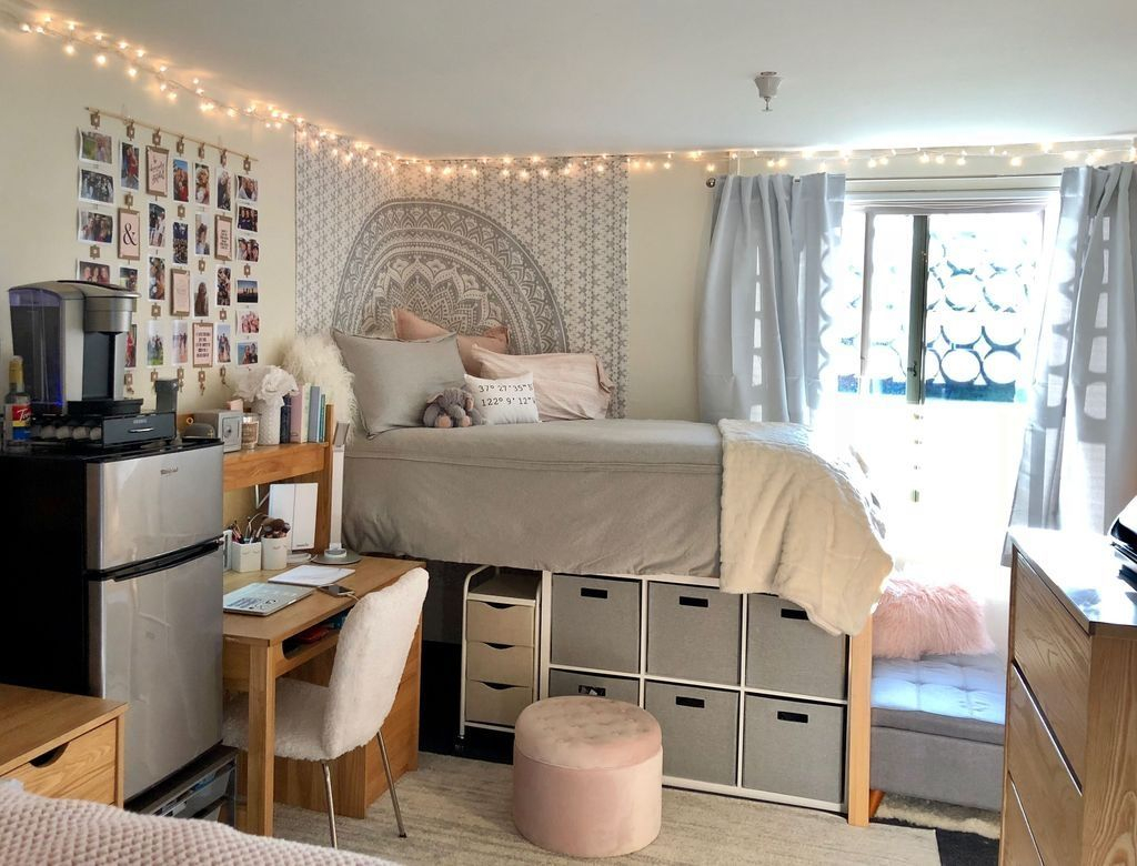 Adorable Dorm Room Design Ideas On A Budget 33