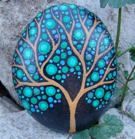 Affordable Diy Painted Rock Ideas For Home Decoration 14