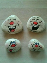 Affordable Diy Painted Rock Ideas For Home Decoration 17