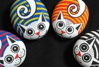 Affordable Diy Painted Rock Ideas For Home Decoration 24