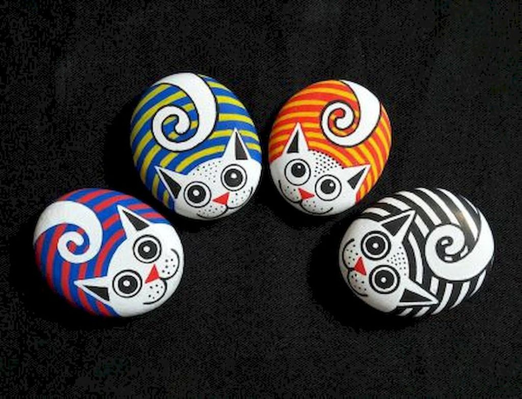 Affordable Diy Painted Rock Ideas For Home Decoration 47