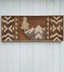 Affordable Geometric Wood Wall Art Design Ideas For Your Inspiration 05
