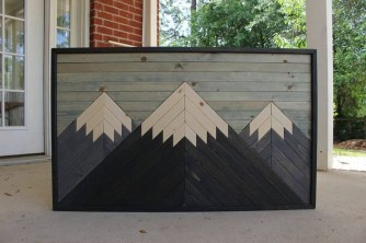 Affordable Geometric Wood Wall Art Design Ideas For Your Inspiration 20