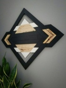 Affordable Geometric Wood Wall Art Design Ideas For Your Inspiration 23