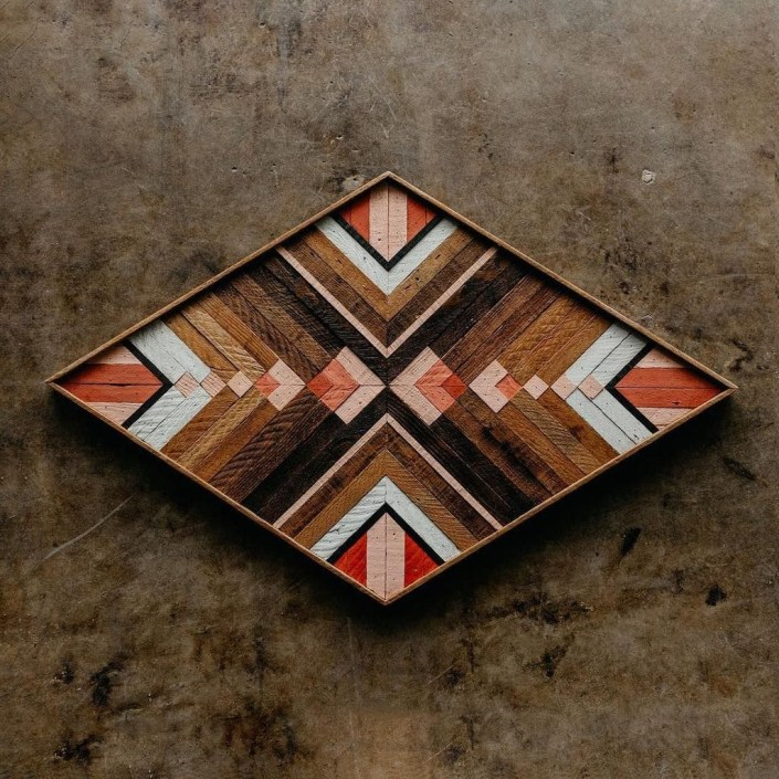 Affordable Geometric Wood Wall Art Design Ideas For Your Inspiration 39
