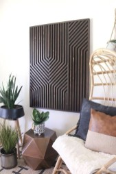 Affordable Geometric Wood Wall Art Design Ideas For Your Inspiration 51