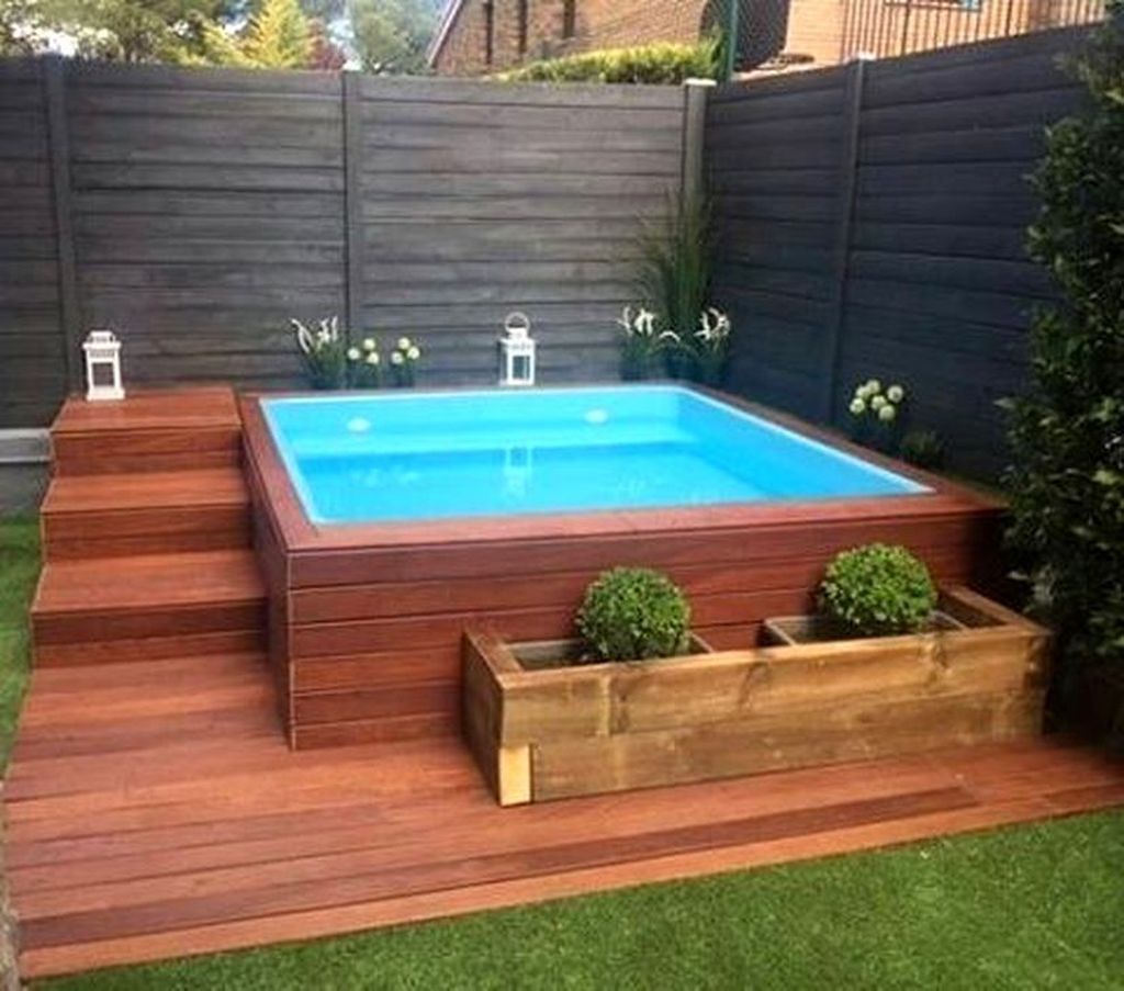 Awesome Backyard Patio Ideas With Beautiful Pool 20
