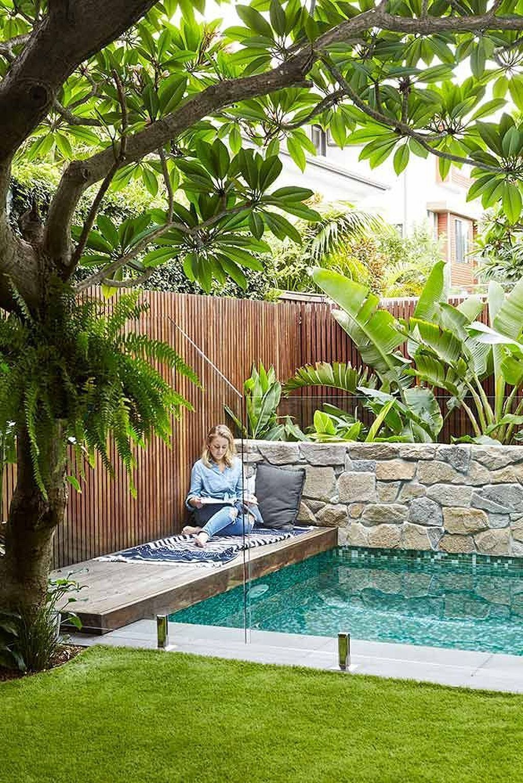 Awesome Backyard Patio Ideas With Beautiful Pool 38
