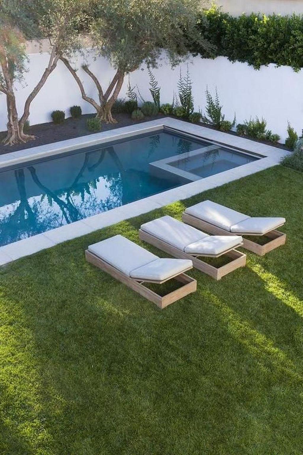 Awesome Backyard Patio Ideas With Beautiful Pool 50