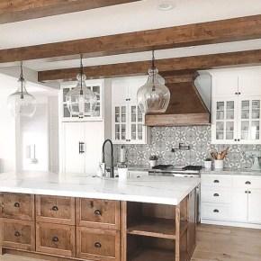 Awesome Farmhouse Kitchen Ideas On A Budget 18