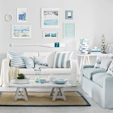 Best Coastal Living Room Decorating Ideas 24