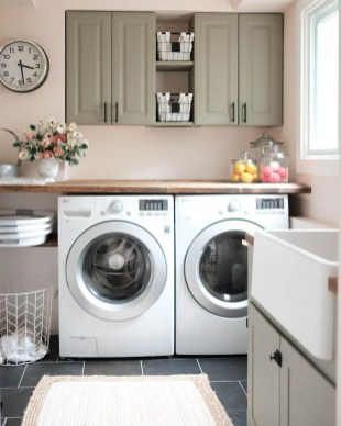 Best Small Laundry Room Design Ideas For Summer 2019 26