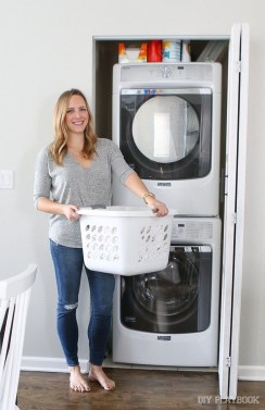 Best Small Laundry Room Design Ideas For Summer 2019 34