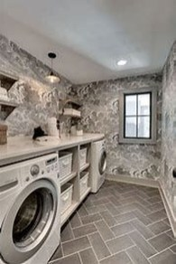 Best Small Laundry Room Design Ideas For Summer 2019 37