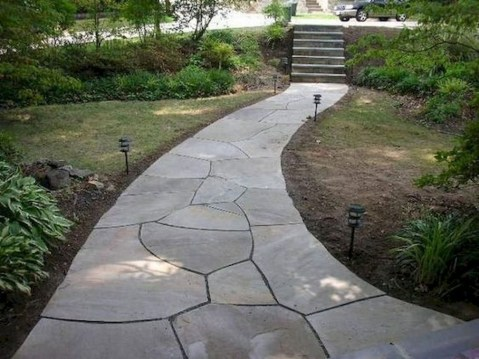Classy Garden Path And Walkway Design And Remodel Ideas 07