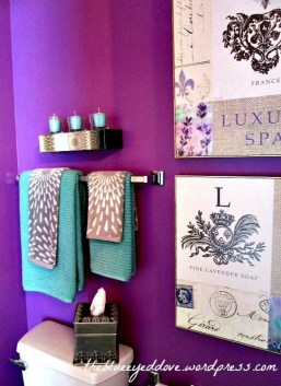 Inspiring Bathroom Decor Ideas With Turquoise Color To Consider 22