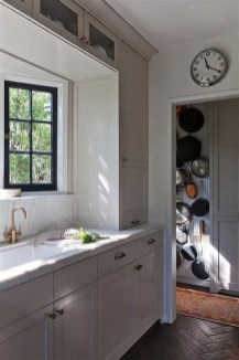 Magnificient Kitchen Cabinet Curtain Ideas To Look Stunning 06