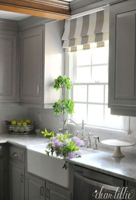 Magnificient Kitchen Cabinet Curtain Ideas To Look Stunning 28