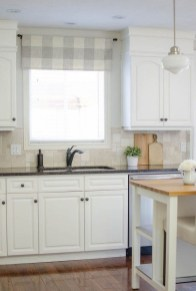 Magnificient Kitchen Cabinet Curtain Ideas To Look Stunning 32