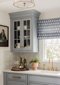 Magnificient Kitchen Cabinet Curtain Ideas To Look Stunning 49