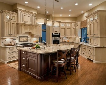Magnificient Kitchen Cabinet Curtain Ideas To Look Stunning 51