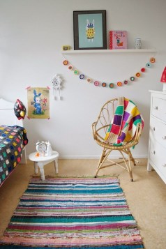 Modern Colorful Bedroom Décor Ideas For Kids 33