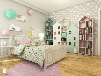 Modern Colorful Bedroom Décor Ideas For Kids 40