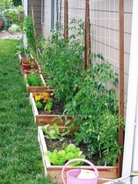 Rustic Side Yard Garden Design And Remodel Ideas 19