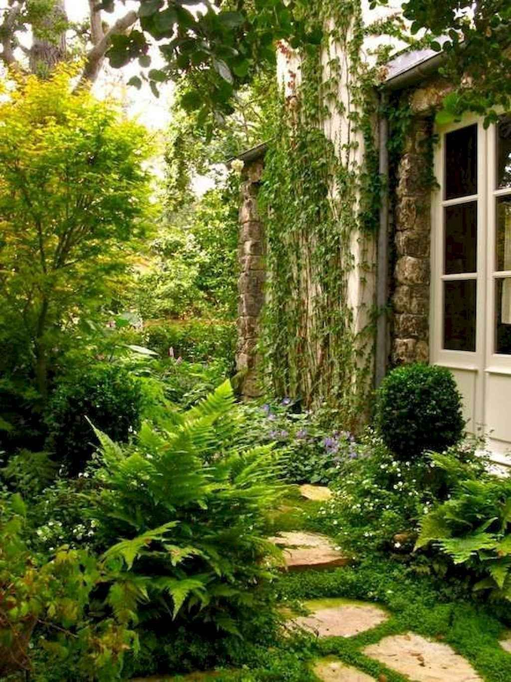 Rustic Side Yard Garden Design And Remodel Ideas 23