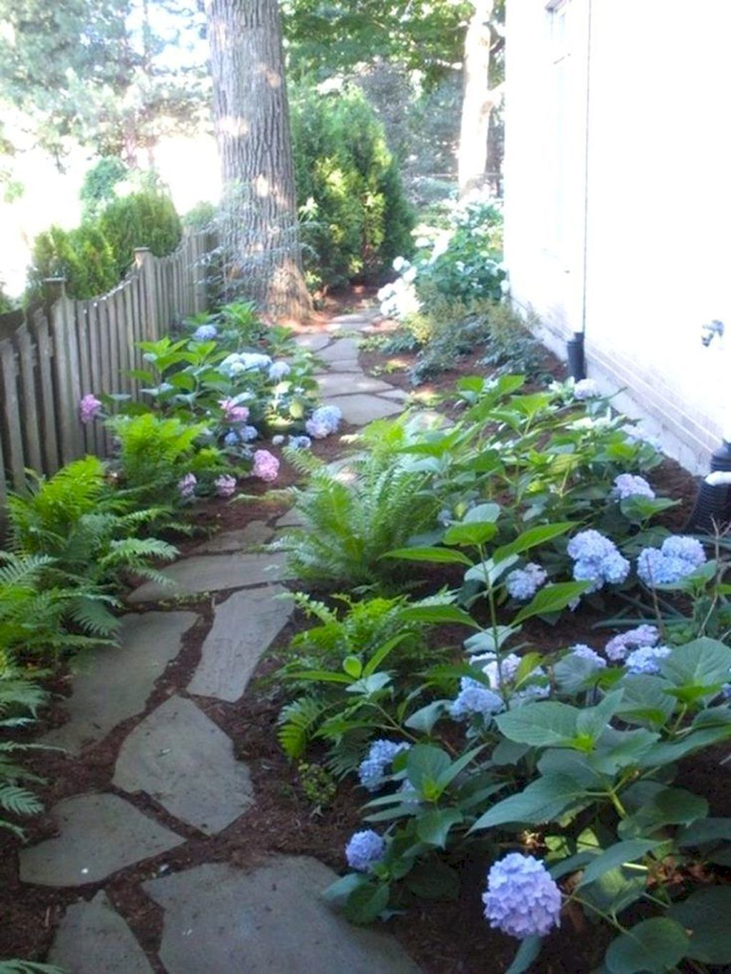 Rustic Side Yard Garden Design And Remodel Ideas 38