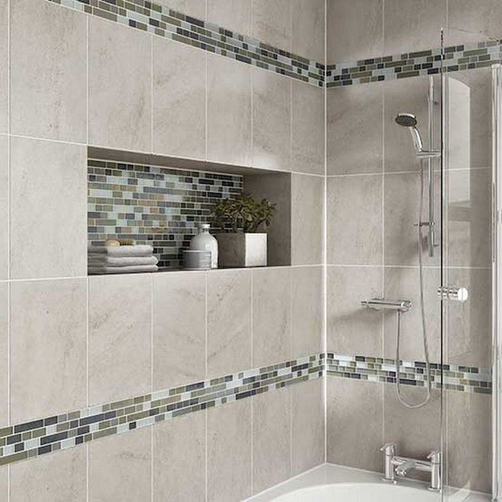 Spectacular Bathroom Tile Shower Ideas That Looks Cool 13