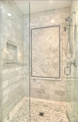 Spectacular Bathroom Tile Shower Ideas That Looks Cool 15