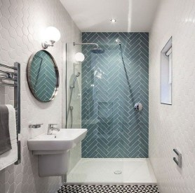 Spectacular Bathroom Tile Shower Ideas That Looks Cool 19
