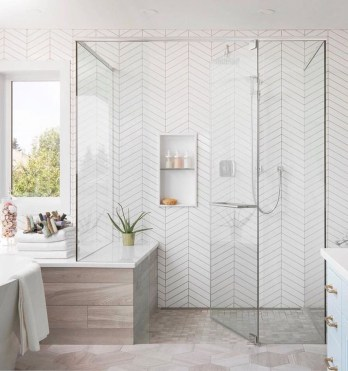 Spectacular Bathroom Tile Shower Ideas That Looks Cool 35