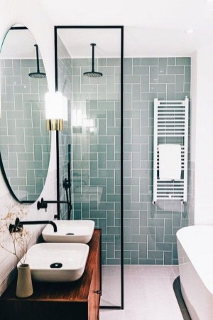 Spectacular Bathroom Tile Shower Ideas That Looks Cool 45