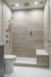 Spectacular Bathroom Tile Shower Ideas That Looks Cool 49