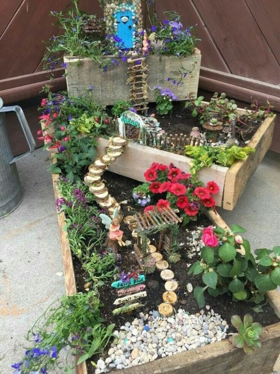 Stunning Diy Fairy Garden Design Ideas To Try This Year 53