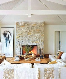 Admiring Fireplace Décor Ideas For Cottage To Try 04