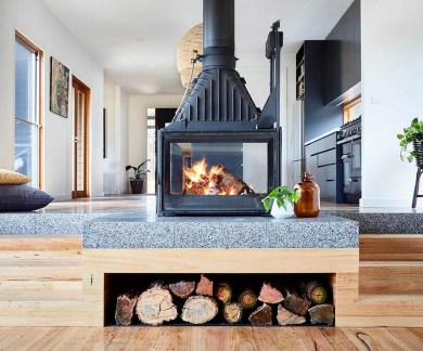 Admiring Fireplace Décor Ideas For Cottage To Try 09