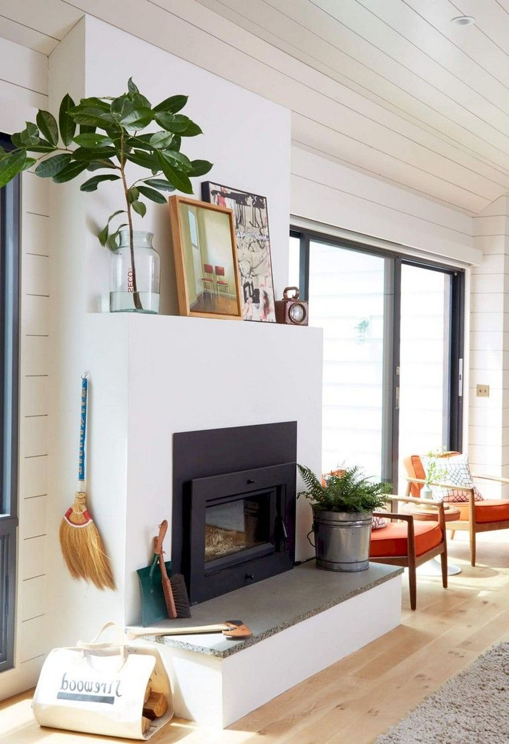 Admiring Fireplace Décor Ideas For Cottage To Try 13