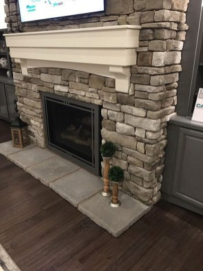 Admiring Fireplace Décor Ideas For Cottage To Try 16