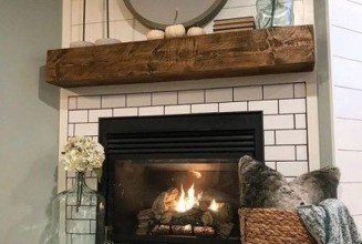 Admiring Fireplace Décor Ideas For Cottage To Try 19