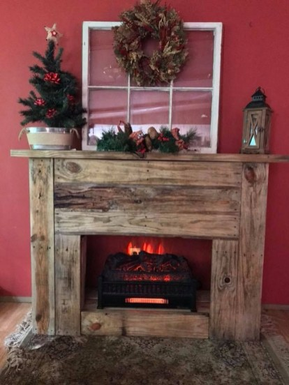 Admiring Fireplace Décor Ideas For Cottage To Try 21