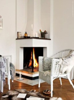 Admiring Fireplace Décor Ideas For Cottage To Try 52