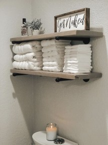 Adorable Farmhouse Bathroom Decor Ideas That Looks Cool 17