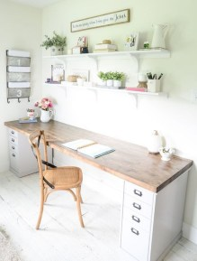 Affordable Diy Home Office Decor Ideas With Tutorials 11