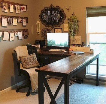 Affordable Diy Home Office Decor Ideas With Tutorials 26