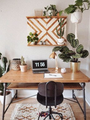 Affordable Diy Home Office Decor Ideas With Tutorials 35